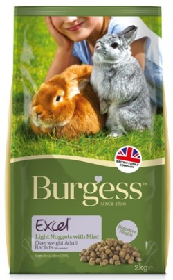 BURGESS RABBIT LIGHT 2 Kg (per conigli in sovrappeso)