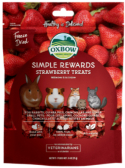 OXBOW TREATS STRAWBERRY