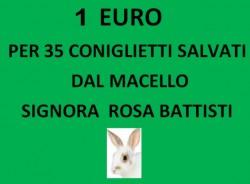 DONAZIONE DI 1 EURO PER ACQUISTO ALIMENTI