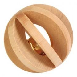 Palla in legno con campanello