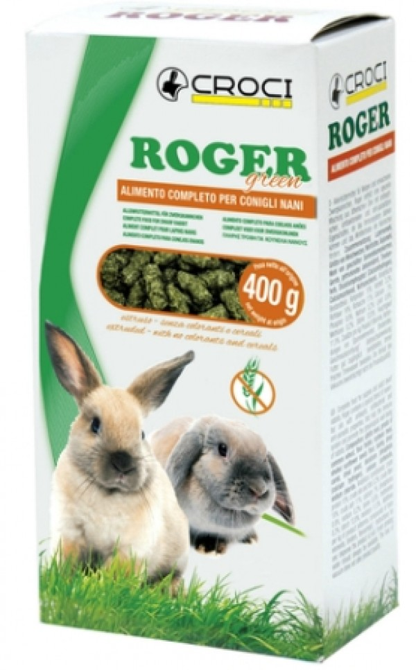 CROCI ROGER GREEN (senza cereali) 400gr