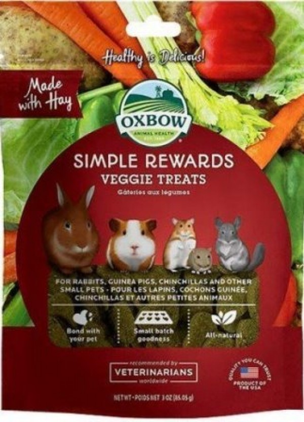 Oxbow veggie treats